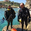 Il Centro Subacqueo di Andria ripulisce il fondale marino di Cala Incina: tra loro anche tranesi