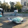 Animali marini creati col recupero della plastica, a Trani una manifestazione di sensibilizzazione sul tema del riciclo