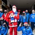 Fortitudo Trani, una Babbo Natale speciale consegna doni ai piccoli atleti