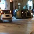 Incidente in via Imbriani, due vetture coinvolte