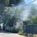 Incendio nella villa abbandonata di via Verdi, nessun ferito