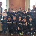 La Soccer Trani premiata dal sindaco Bottaro con una pergamena