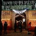 Natale a Trani, torna ad illuminarsi anche Villa Telesio