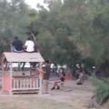 Ancora vandali in azione nel parco giochi della Villa comunale