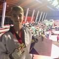 Taekwondo, Giuseppe Di Leo sul podio dell'Open Albanese cinture nere