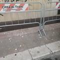Pioggia di calcinacci dell'ex cinema Bellini, l'area subito messa in sicurezza