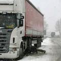 Viabilità, fino a martedì divieto di circolazione per i veicoli superiori a 7,5 tonnellate
