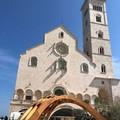 """Dall'ulivo l'olio, dal legno l'architettura: il """"Tripode"""" per i Dialoghi di Trani"""