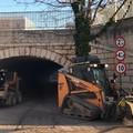 Lavori stradali, oggi operai in via del Ponte Romano e via Malcangi
