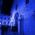 La facciata della chiesa di San Francesco s'illumina di blu per sensibilizzare alla diagnosi precoce del diabete
