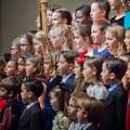 """Nella biblioteca di Trani  """"Coro di Natale """" con gli studenti della Rodari e D'Annunzio"""