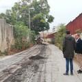 Rifacimento del manto stradale, questa mattina avviati i lavori da via Del Ponte Romano
