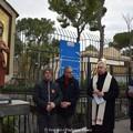 In via Baldassarre torna la statua di San Nicola il Pellegrino