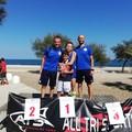 Triathlon supersprint giovani, i tranesi Erika Ciccolelle e Giovanni Angelilli salgono sul podio