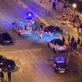 Carambola nella notte sul lungomare di Trani, feriti alcuni ragazzi