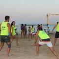 Nuova rete per beach volley a Colonna: è un dono dell'associazione Nicholas De Santis