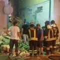 Fuga di gas a Barletta, crolla la parete di una palazzina