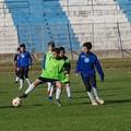 La Soccer Trani si allena allo stadio comunale prima della partenza per Forte dei Marmi