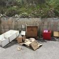 Amiu, continua l'attività di raccolta dei rifiuti abbandonati lungo le strade urbane periferiche