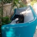 """In città come in campagna: rifiuti  """"ingombranti """" in Zona Capirro"""