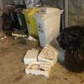 Piazza Longobardi, cassonetti dentro e fuori stracolmi di rifiuti