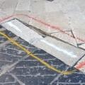 Basole sconnesse in piazza Libertà, in arrivo le transenne