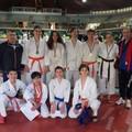 Campionato nazionale Aics, pioggia di medaglie per il karate tranese
