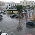 Piazza Plebiscito, auto bloccate dal bus parcheggiato al centro