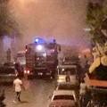 Auto prende fuoco in via San Gervasio: paura tra i residenti