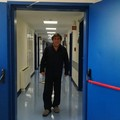 """Domenico Briguglio ricoverato a Bari:  """"Sto bene e lavoro anche da qui """""""