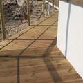 Monastero di Colonna, realizzata la passerella in legno per i bagnanti