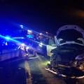 Brutto incidente a Trani sud: tre mezzi coinvolti e due feriti