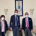 Il vicepresidente della Regione in visita dal Sindaco Bottaro