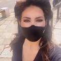 Elisabetta Gregoraci a Trani per un servizio fotografico
