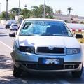 Scontro tra auto e moto sulla Trani-Bisceglie: un ferito