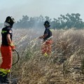 Incendio in zona Boccadoro spento grazie ai volontari Oer