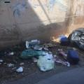 Ancora rifiuti abbandonati tra via Martiri di Palermo e via Croazia