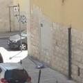 Atti vandalici, a terra un cartello stradale in via Elena Comneno