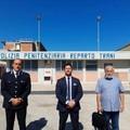 Il Sappe e l'onorevole Galantino in visita al carcere di Trani