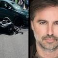 Impatto tra auto e moto in via Malcangi: il modello andriese non udente Armando Conte ferito nell'incidente