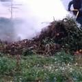 Beccato ad incendiare rami nelle campagne tranesi