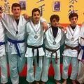 Tante medaglie per gli atleti di Judo Guglielmi