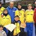 La Judo Trani fa il pieno di medaglie