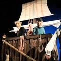 """Raccontando sotto le stelle, oggi in scena  """"L'isola dei pirati """" della compagnia abruzzese i Guardiani dell'Oca"""