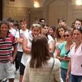 Una delegazione della Misericordia di Forlì in visita a Trani