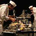 Lo chepiteau si trasforma in una grande cucina con i pasticceri Roberto Abbiati e Leonardo Capuano
