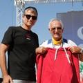Tranincorsa, Umbro premia la tenacia del concorrente più anziano