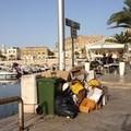 Zona porto, i protagonisti del week- end sono i rifiuti