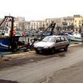 Pavimentazione dissestata sul porto di Trani