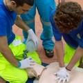 Primo soccorso, la Misericordia di Trani insegna come fare